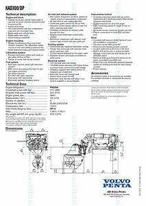 Volvo Penta Kad 300 Dp Marine Diesel Propulsion Engine