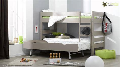 chambre 3 enfants lit enfant superposé 1 2 3 ma chambre d 39 enfant