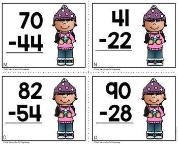 winter  digit subtraction  images subtraction