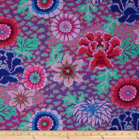Kaffe Fassett Dream Purple  Discount Designer Fabric