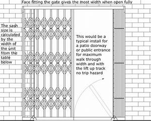 Measuring For Security Grilles