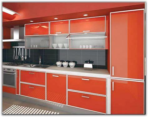 aluminum kitchen cabinets     laminate