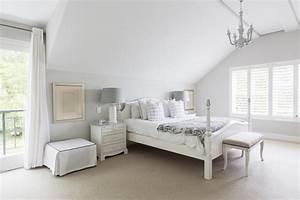 White, Bedroom, Decorating, Ideas