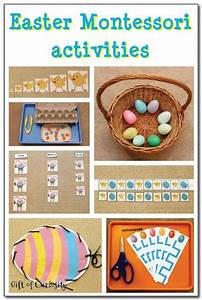 Easter Montessori activities