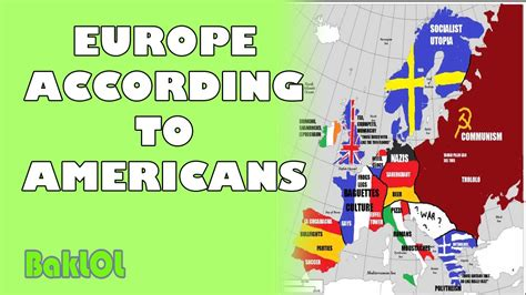 Europe According to Americans - YouTube