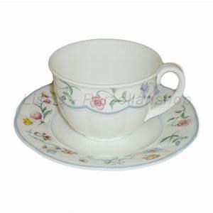 Villeroy Und Boch Geschirr : villeroy boch mariposa kaffeetasse mit untertasse 0 2 liter ~ Frokenaadalensverden.com Haus und Dekorationen