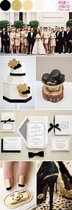 black white gold wedding colorsblack white gold wedding ideas With black and gold wedding ideas