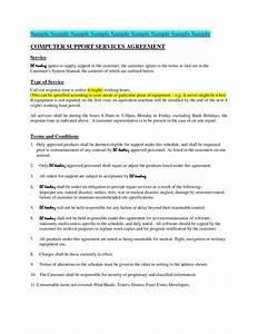 computer repair service agreement template - maintenance agreements