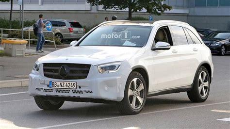 2019 Mercedes Glc Yeni Farlarıyla Görüntülendi