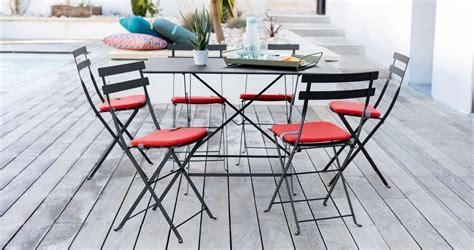 galette de chaise de jardin stunning salon de jardin bistrot fermob images awesome