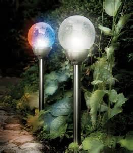 Solar Garden Light Orbs