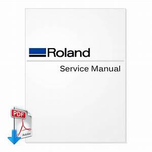 Roland Versastudio Bn-20 Service Manual