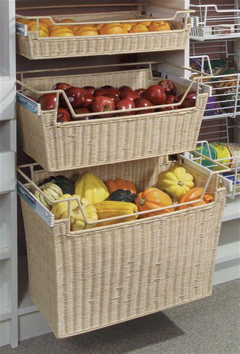 kitchen vegetable storage baskets pantry 6379