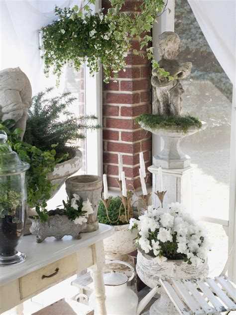 shabby chic garden decor perfectly shabby chic accents accessories and vignettes hgtv
