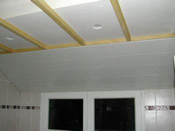 lame pvc plafond salle de bain maison travaux