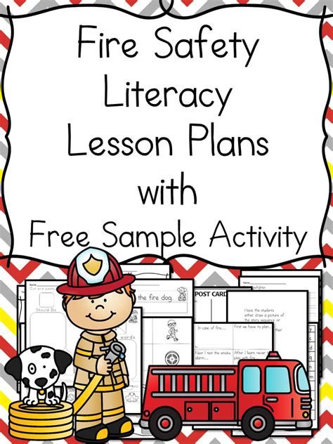 safety worksheets for kindergarten with book ideas 343 | fire safety lesson plans title