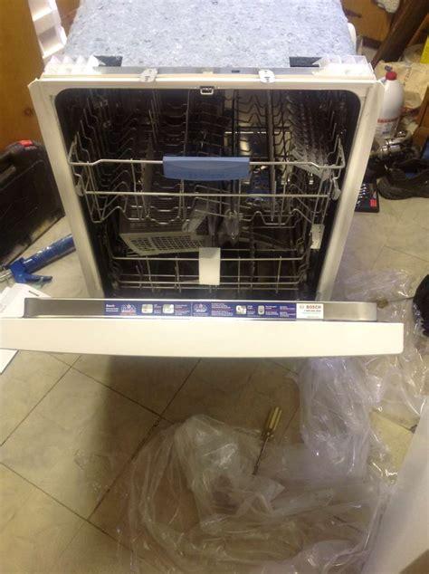 bosch  series dishwasher review info installation