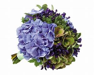 Purple And Green Hydrangea Bouquets