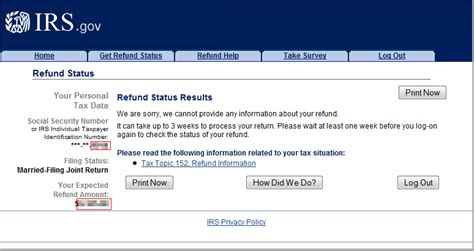 check  irs refund status   minutes bench