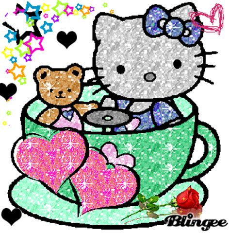 hello kitty glitter picture 124760325 blingee com