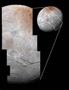 Pluto's moon, Charon, at highest resolution yet and in ...