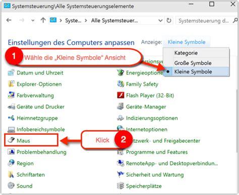 Maus Zu Schnell by Windows 10 Maus Schneller Oder Langsamer Machen Techfrage