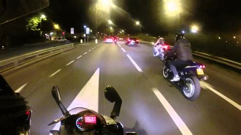 Motorcycle Night Riding London [kk]