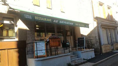 gevaudan cuisine restaurant au gevaudan saugues restaurant avis numéro