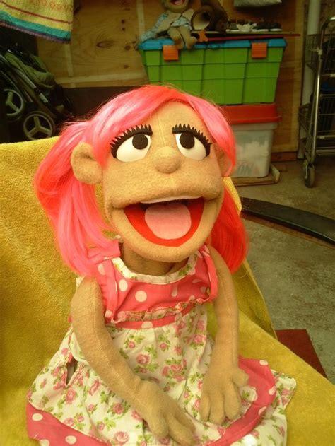 beautiful girl puppet handpuppets girl puppets