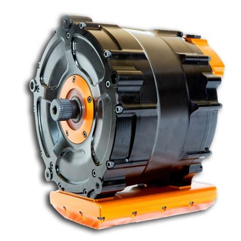 Liquid Cooled Ac Motor With Permanent Magnets ...