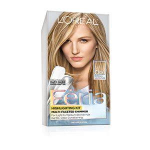 loreal feria multi faceted hair highlights permanent hair