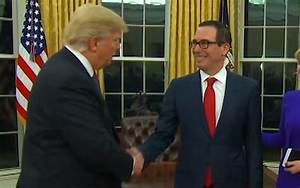 Trump's Treasury Secretary Received A Gift-Wrapped Box Of ...