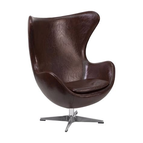 flash furniture living room egg chair with tilt lock