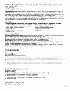 customer support technician resume With executive resume help