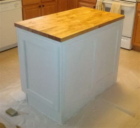 how to remove kitchen island how to make a diy kitchen island and install in your 7335