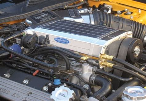 shelby gt kenne bell  liquid cooled super charger
