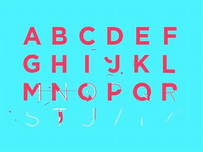 Animated Typography Letters Terms Cliparts Animation Type