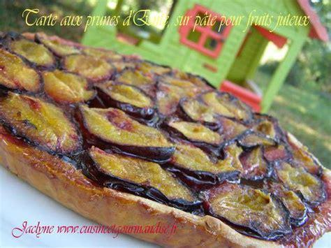 recettes de prunes et tarte aux prunes