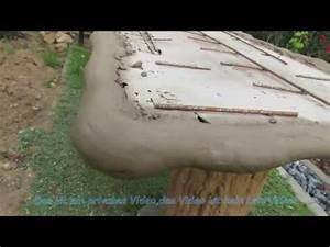 Gartentisch Aus Terrassendielen Selber Bauen : gartengestaltung gartentisch aus beton selber bauen youtube ~ Whattoseeinmadrid.com Haus und Dekorationen