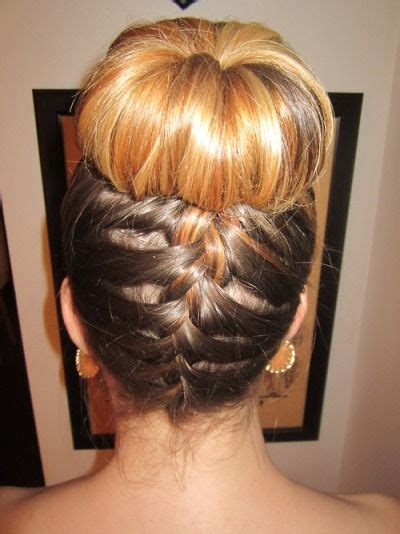 different bun styles for hair 17 best images about baton twirling 2356