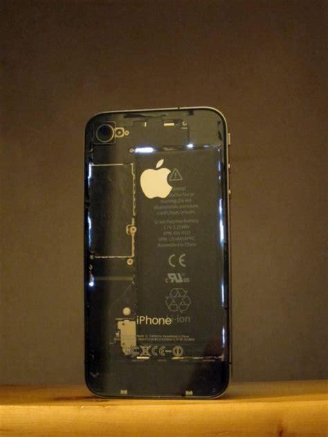 mod turns iphone  transparent