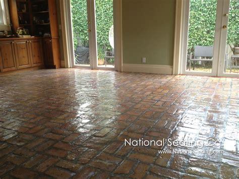 Cleaning & Sealing Interior Pavers   National Sealing