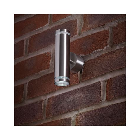 endon lighting el 40080 outdoor led stainless steel up