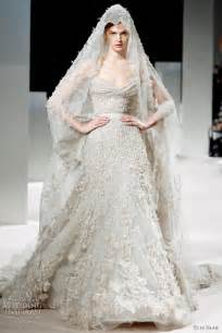 couture wedding dress elie saab summer 2011 couture dresses wedding inspirasi