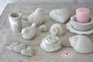 Beton Gießen Basteln : beton giessen ist ganz einfach beton gips pinterest beton gie en basteln und basteln ~ Indierocktalk.com Haus und Dekorationen