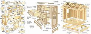 Download 100 Free Woodworking Plans & Projects