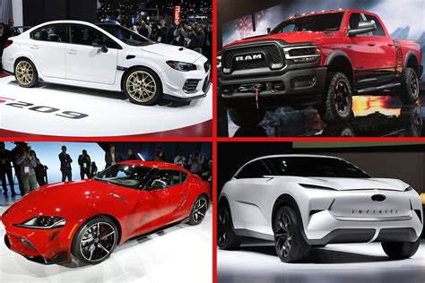 New Trucks, Suvs And Cars At Naias