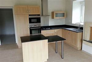 agencement de cuisines amenagement interieur de salles With agencement cuisine en l