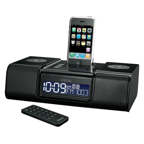 iphone clock radio ihome ip9 iphone alarm clock review ihome iphone speakers