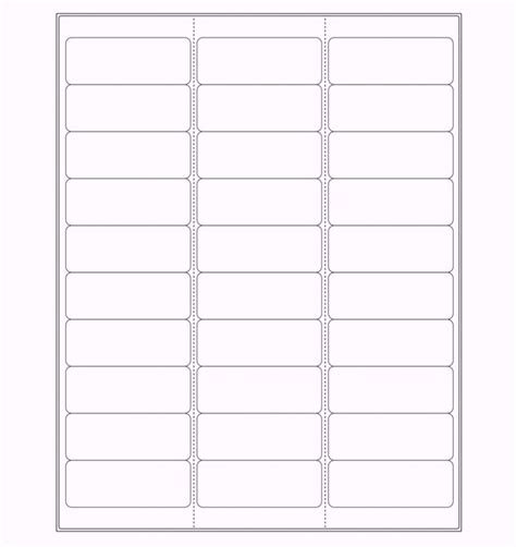 return label template free printable address label templates word